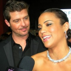 Robin Thicke & Paula Patton Say The Most Awkward Things