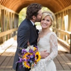 Kelly Clarkson Looks Incredible At Her Wedding