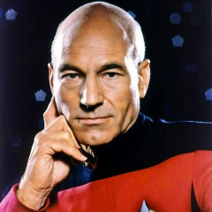 Captain Picard Sings 'Let it Snow'