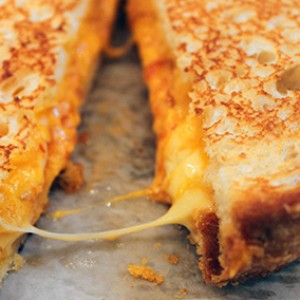 The Trick to a Perfect Grilled Cheese Sandwich