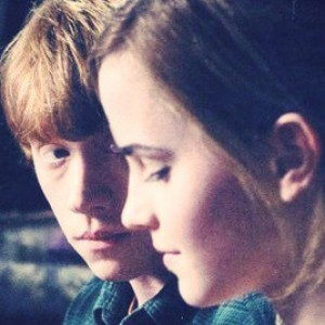 rowling questions ron and hermione relationship