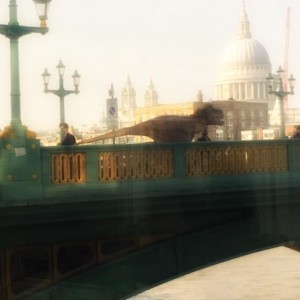 Why Were These Dinosaurs Crossing the Thames?