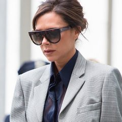 Victoria Beckham Just Showed How to Wear a Skinny Scarf