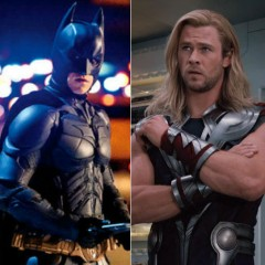 The Avengers vs The Dark Knight Rises
