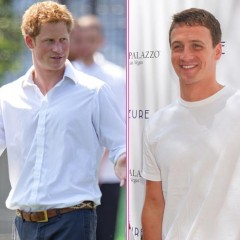 Prince Harry Races Ryan Lochte In Vegas