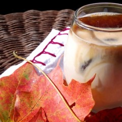 Lushworthy Creation: The Pumpkin Pie White Russian