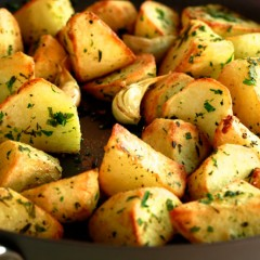 Crispy Roasted Potatoes Complete Your Feast