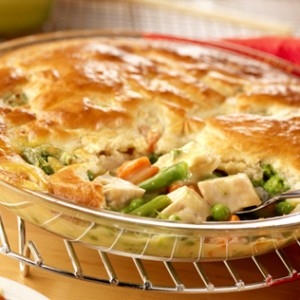 impossibly easy chicken pot pie this pot pie couldn t be easier it s ...