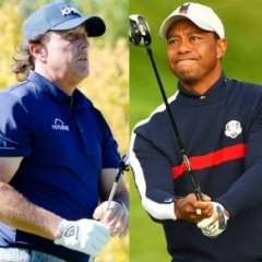 The Woods-Mickelson Face-Off Is the Sporting Worlds Biggest Con
