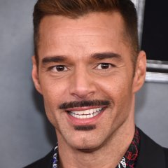 Ricky Martin Debuts Polarizing Mustache at 2019 Grammys