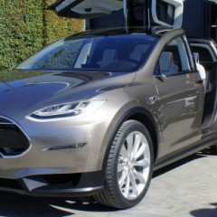 Tesla Model X Spotted Testing in Motion For First Time
