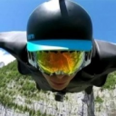 GoPro Cameras Capture Daredevil's Stunning Swiss Alp's Flight