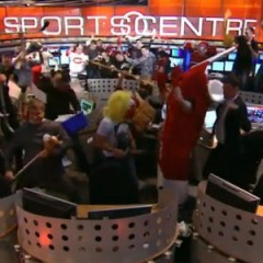 TSN SportsCentre Crew Does the Harlem Shake