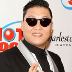 Psy Drops Remix of Gangnam Style With Some Help