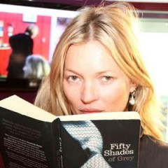 Kate Moss Reads 50 Shades of Grey on BBC