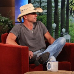 Kenny Chesney Visits Ellen DeGeneres