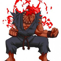 Artist vs Akuma in a Hand Drawn Fight to the Death
