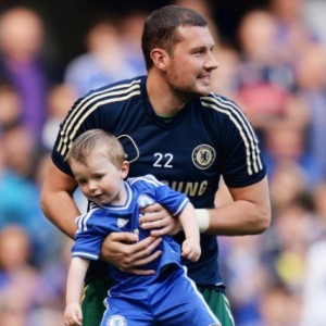 Professional Goalkeeper's Son Steals the Show