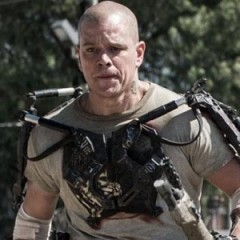 Check Out Matt Damon's Strength Suit In Elysium