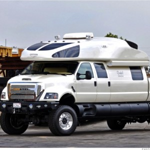 The Ford F-750 World Cruiser is Beyond 'Cowboy Cadillac'