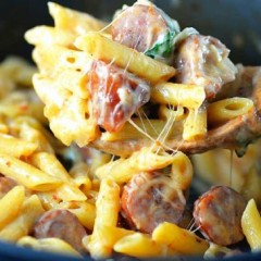 15-Minute One Pot Penne Pasta