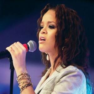 Rihanna Hits Fan With Her Mic