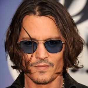 Johnny Depp is Almost Completely Blind