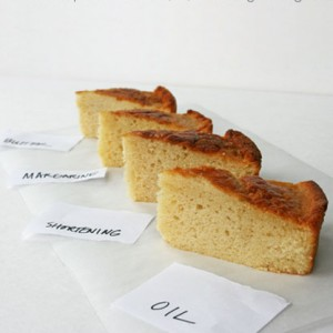 Differences Between Butter & Margarine in Cake