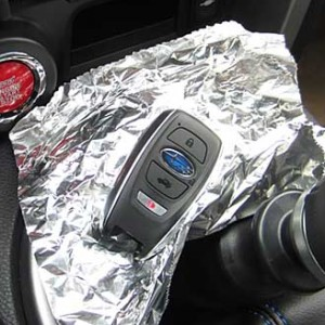 Why You Should Wrap Your Keys In Aluminum Foil