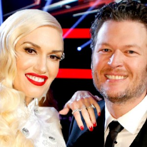 Blake and Gwen Take Post-Holiday Drive