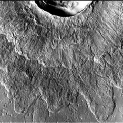 Ice On Mars Forms Mysterious Craters