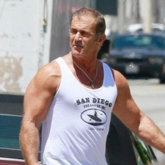 First look at Mel Gibson on the set of The Expendables 3