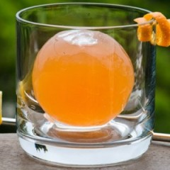Learn To Make The Inside-Out Ice Sphere Cocktail