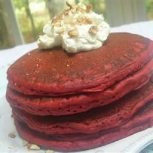 Red Velvet Pancakes You Have To Try