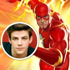 Glee's Grant Gustin is Flash in Arrow Season 2