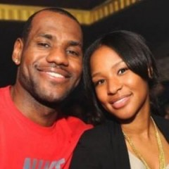 LeBron James' New Wife Through the Years