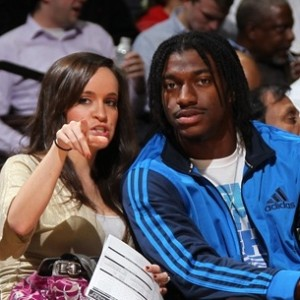 RG III's Wife Shuts Him Down on National TV