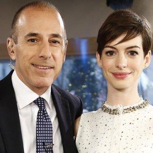 Kathryn Rossetter Hot >> The Cringe-Worthy Question Matt Lauer Once Asked Anne Hathaway - ZergNet