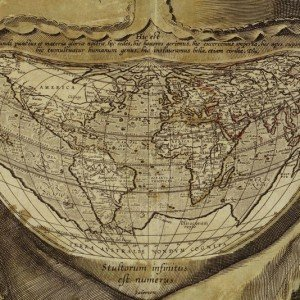The Enduring Mystery of the 'Fool's Cap Map of the World'