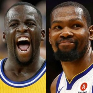 aa039881fe4c Kevin Durant and Draymond Green Had To Be Separated On The Bench
