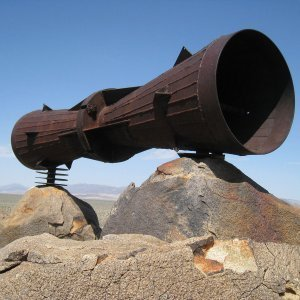 The Puzzling Case of the Mojave Megaphone