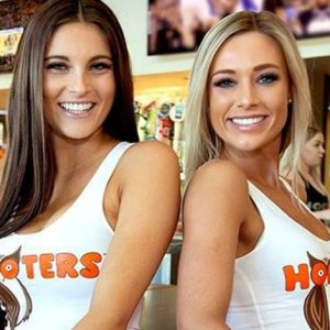 Image result for girls from hooters